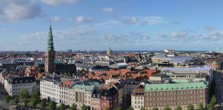 Europeiska Unionen Copenhagen   view from Christiansborg castle 324x160