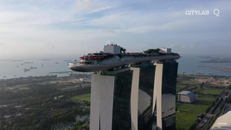Singapore har hittat ett miljövänligt alternativ till luftkonditionering (video)